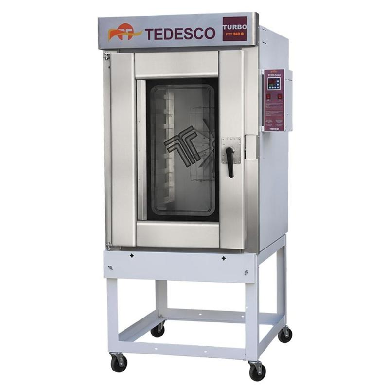 FORNO TURBO FTT-240 - 8 ESTEIRAS A GAS