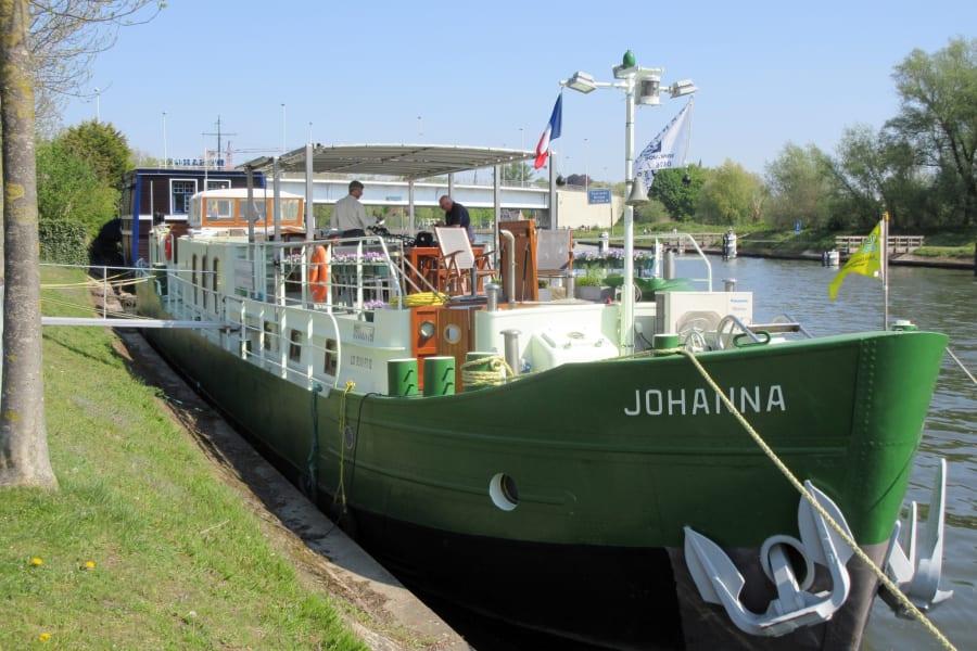 Johanna angemeerd in Brugge