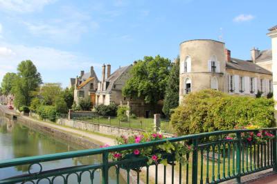 Kanaal van Briare in Montargis
