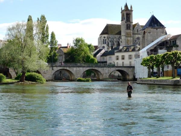 Moret-sur-Loing waar impressionist sisley leefde.