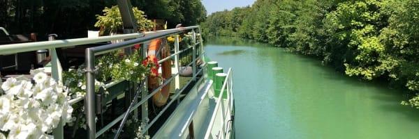 Varen in Frankrijk met barge Johanna