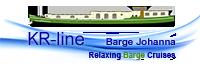 Logo barge Johanna, KR-line