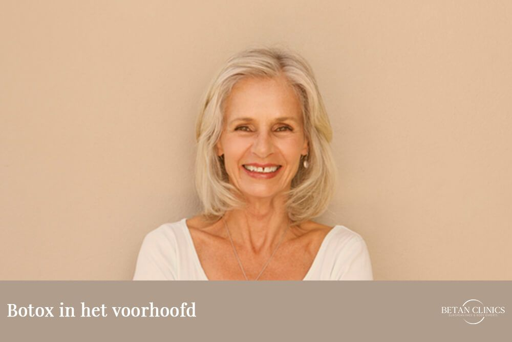 Botox in voorhoofd: de opties om voorhoofdsrimpels te verwijderen