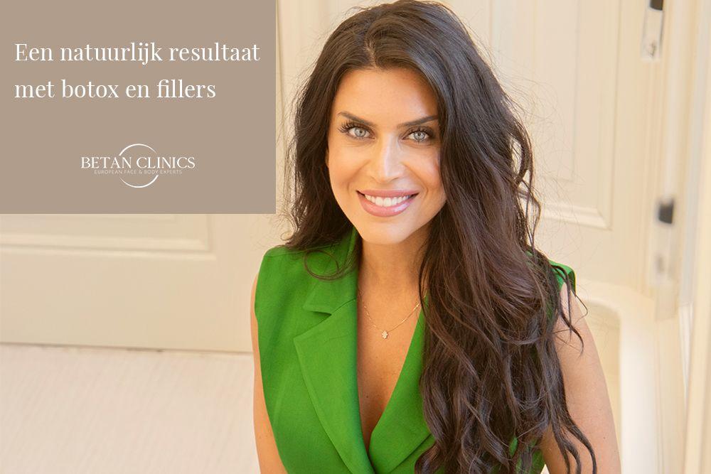 Natuurlijk Resultaat met Botox en Hyaluronzuur Filler Rimpelbehandeling - Betan Clinics