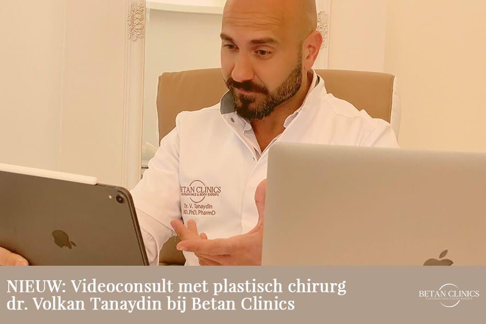 NIEUW Videoconsult met plastisch chirurg