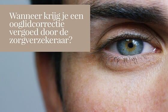 Wanneer krijg je een ooglidcorrectie vergoed?