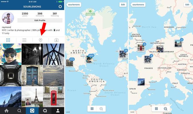 λειτουργίες του Instagram