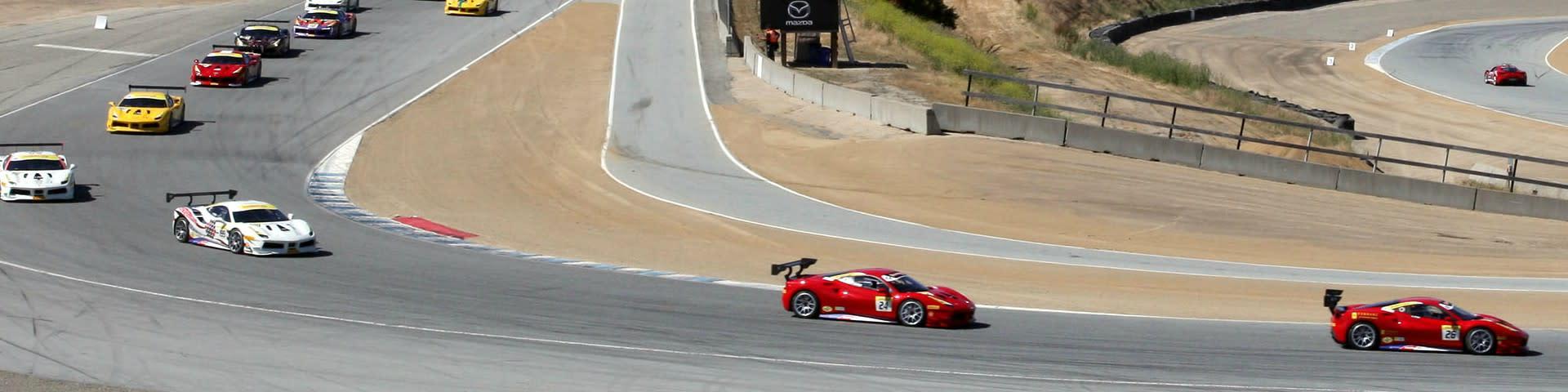 Ferrari Challenge Laguna Seca