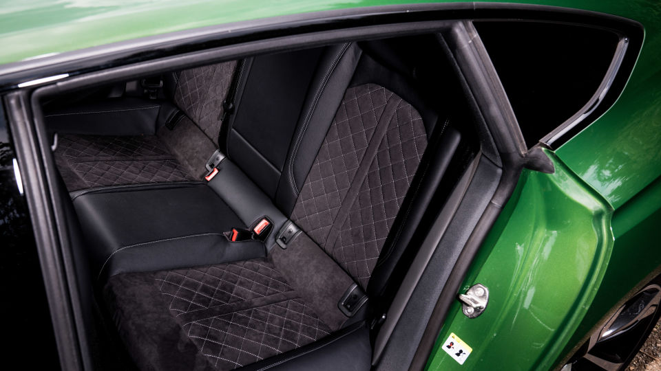 RS5 Sportback Rear Interior
