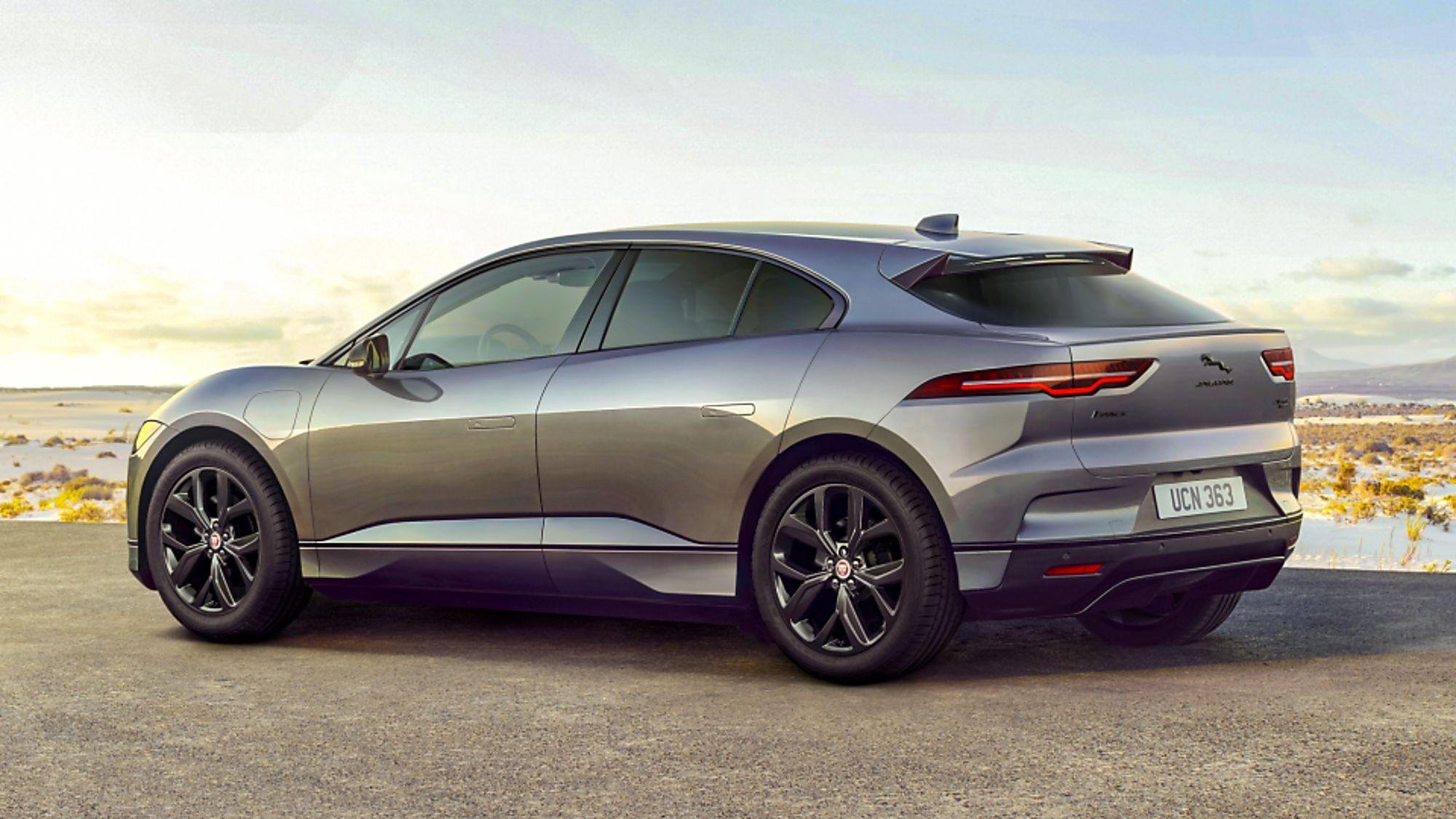 JAGUAR: All-electric I-Pace gets two new 'Black' models
