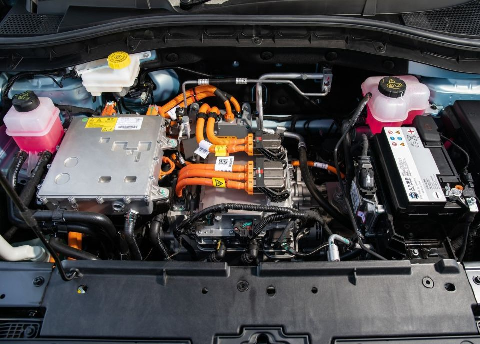 MG ZS Electric 2019 Electric engine