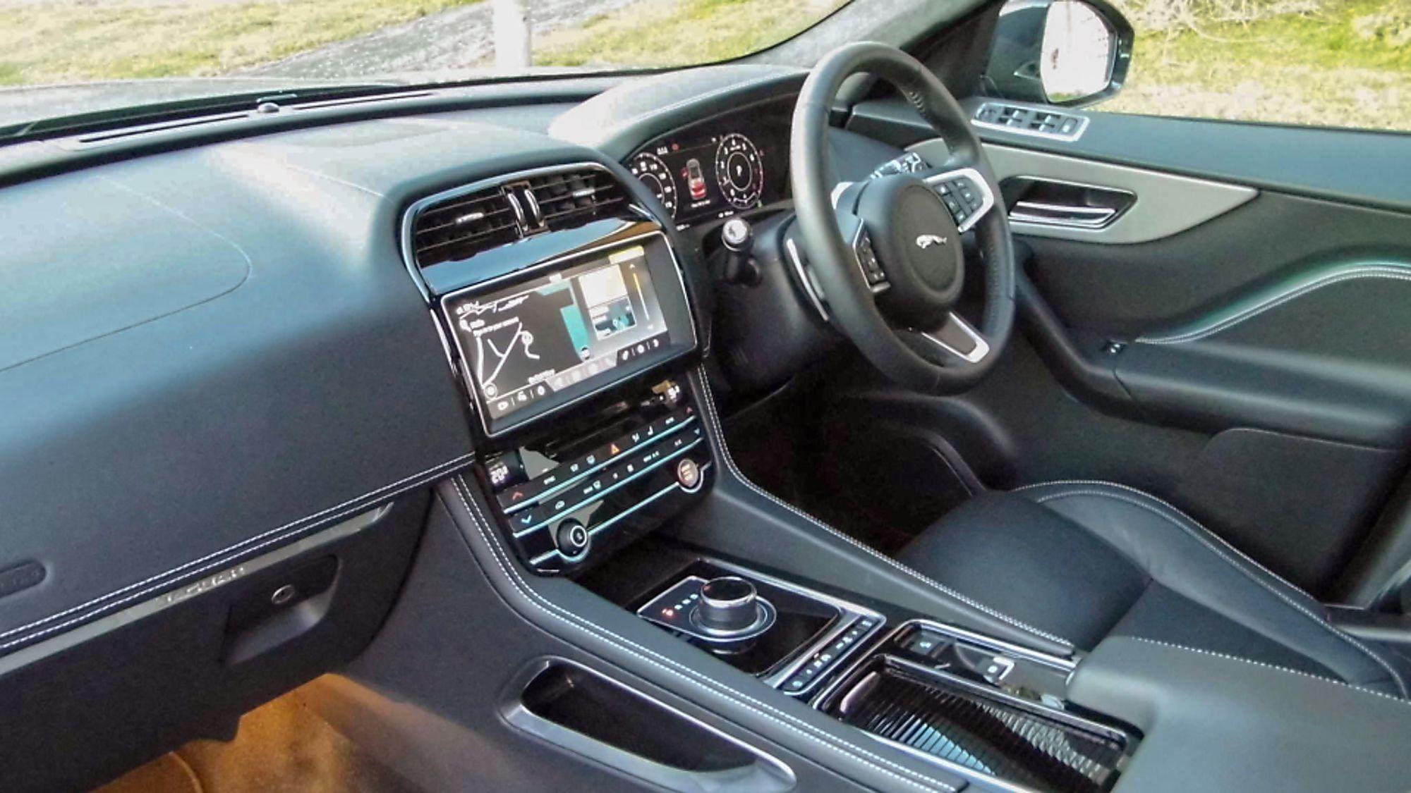 Jaguar F-Pace Inside