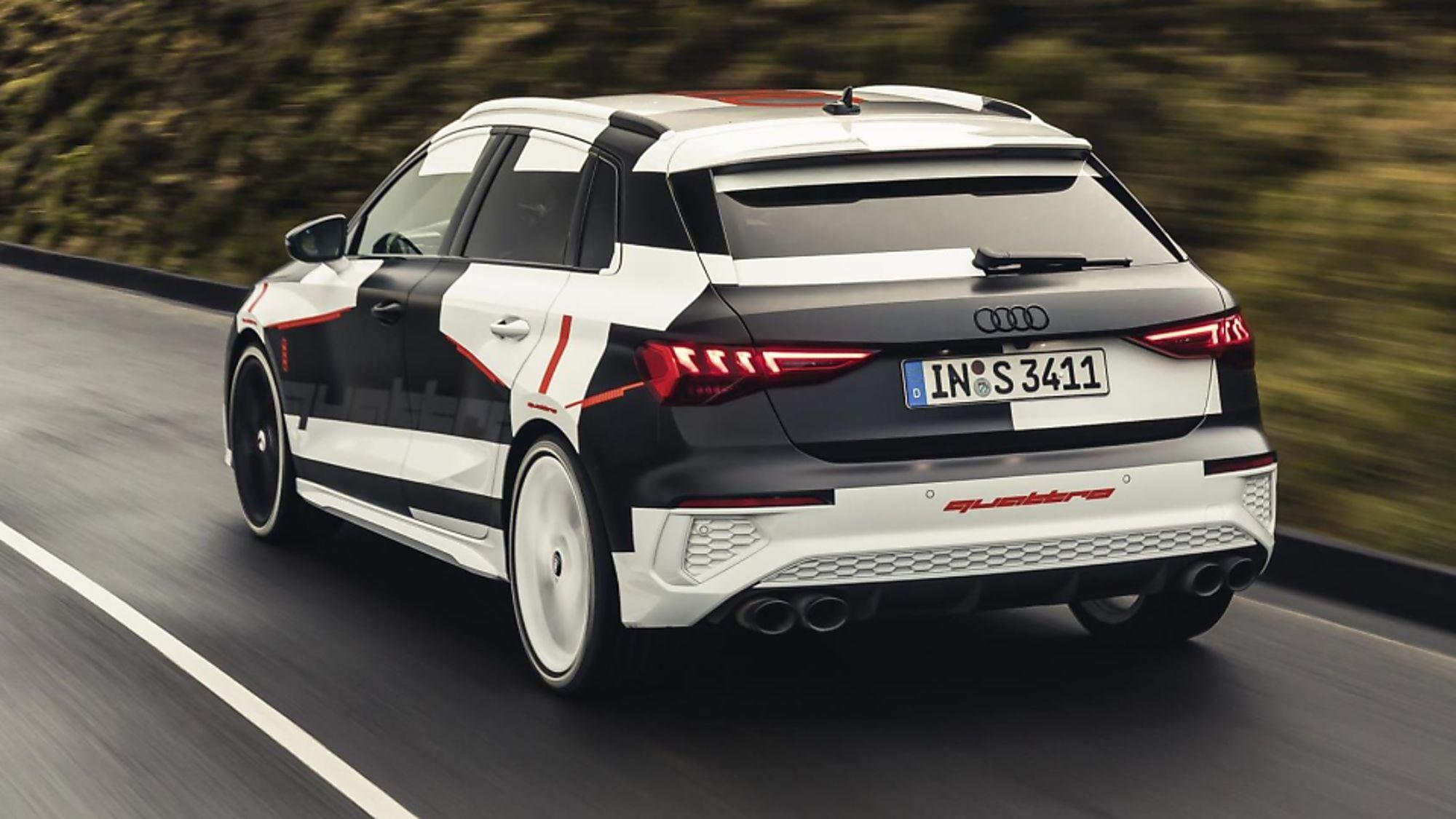 Audi A3 Rear