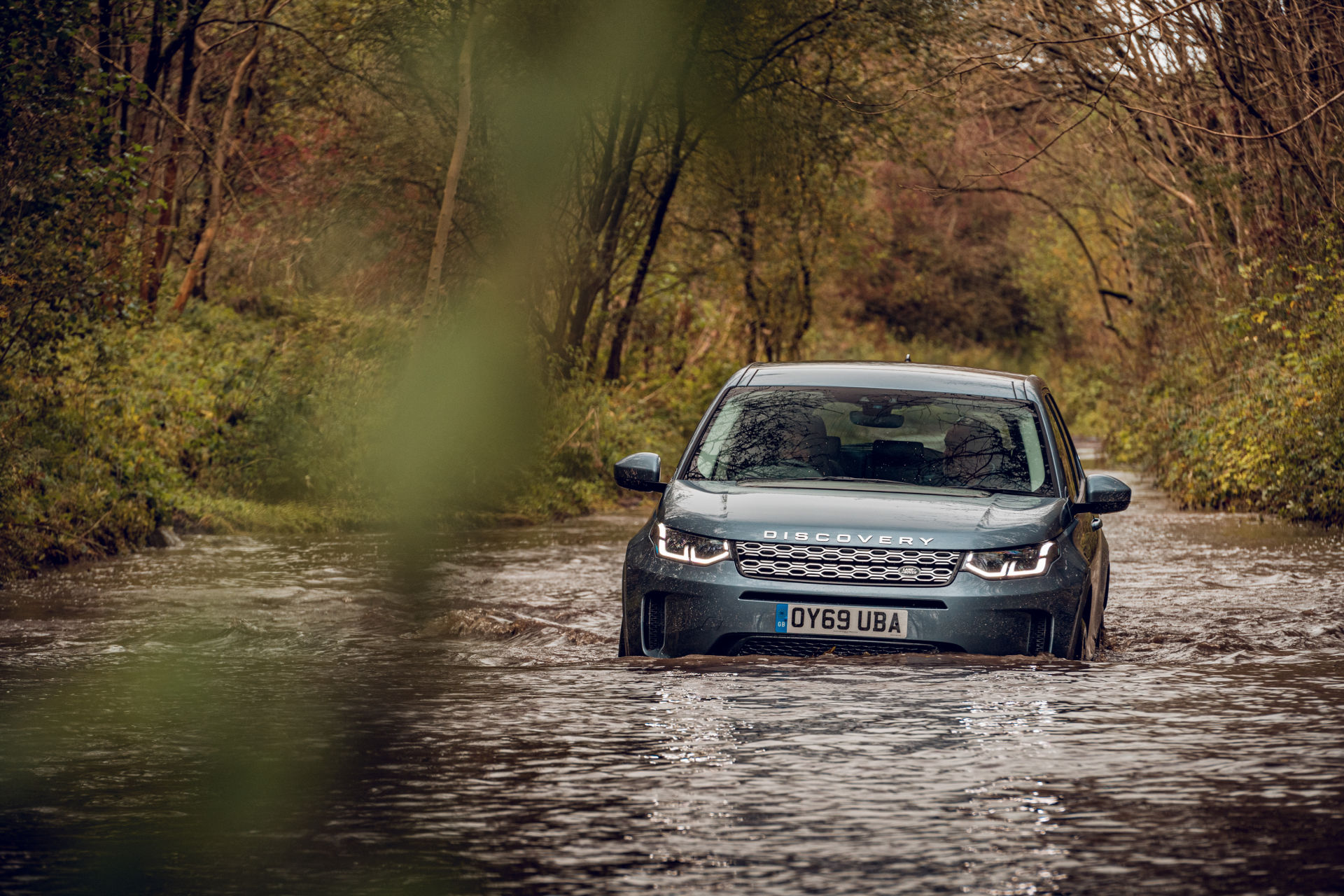 Land Rover Discovery Sport 2019 - Off-road Water