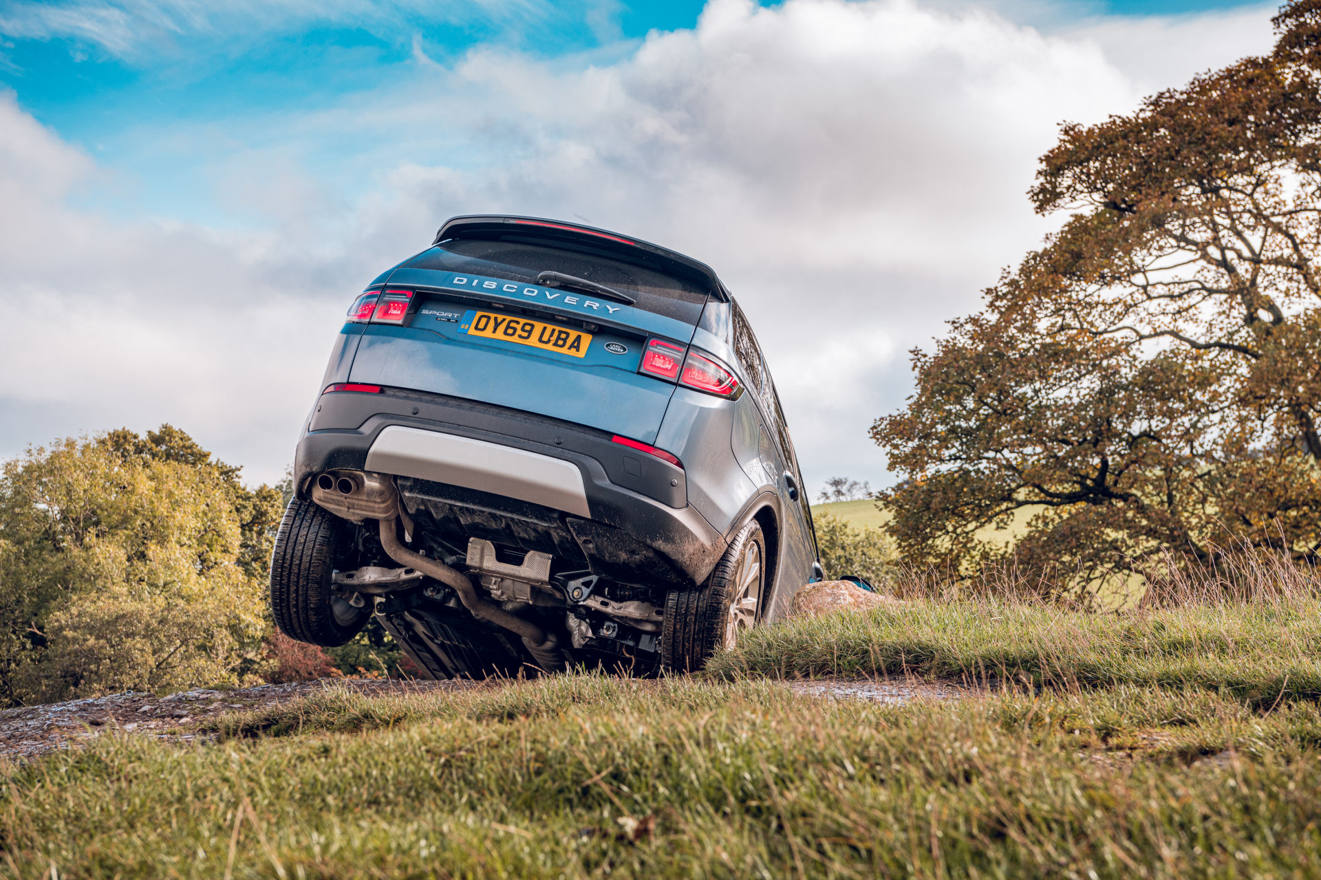 Land Rover Discovery Sport 2019 - Off-road