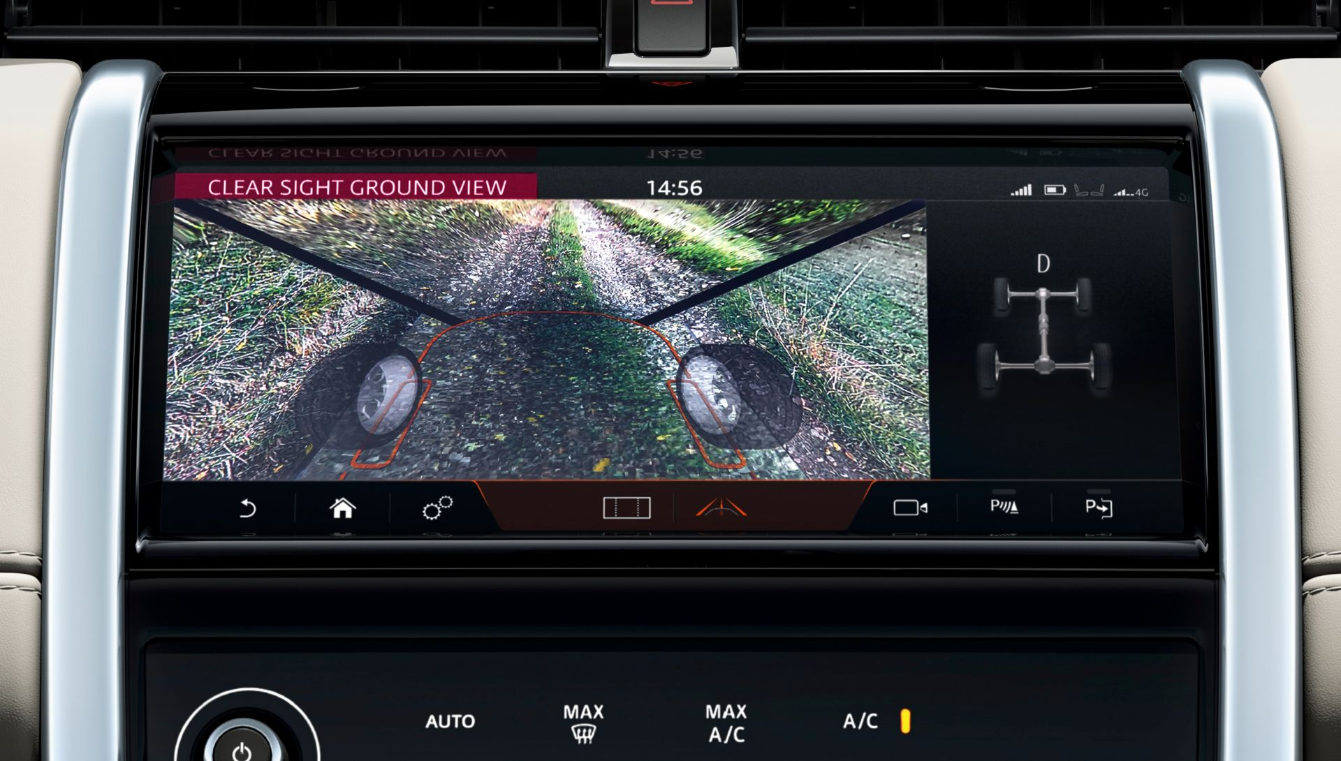 Land Rover Discovery Sport 2019 Screen