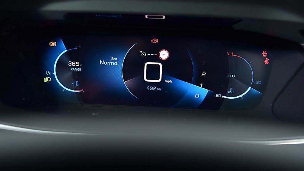 Peugeot 208 Dash