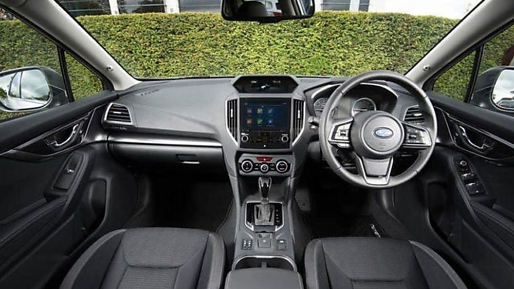 Subaru Impreza Interior Front