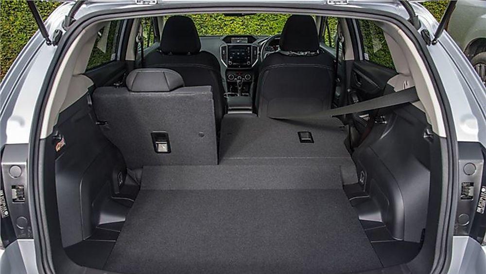 Subaru Impreza Interior Boot
