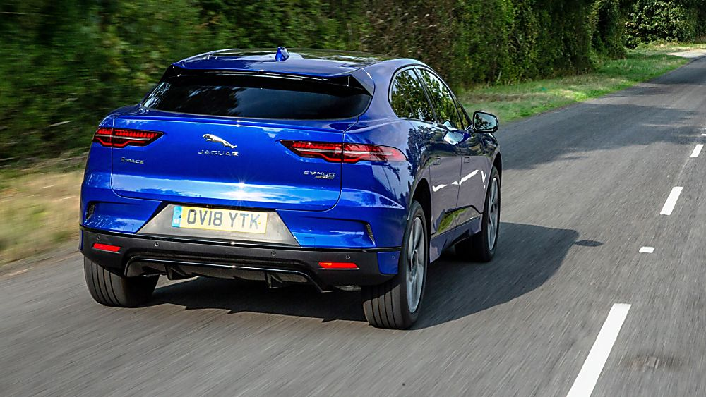Jaguar I-Pace Interior Rear