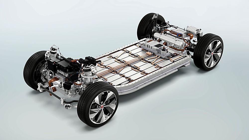 Jaguar I-Pace Drivetrain