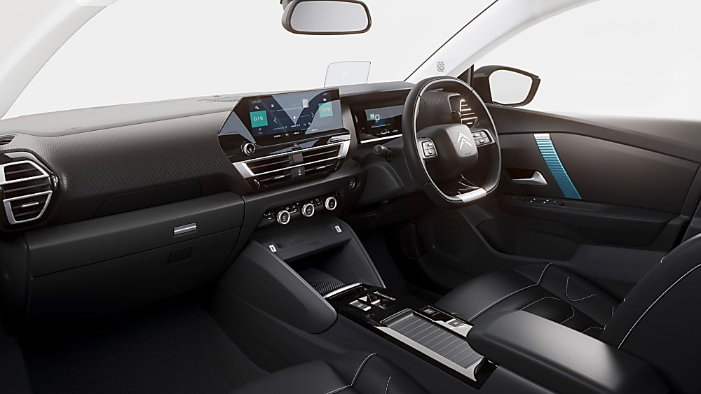 Citroen C4 and e-C4 Interior