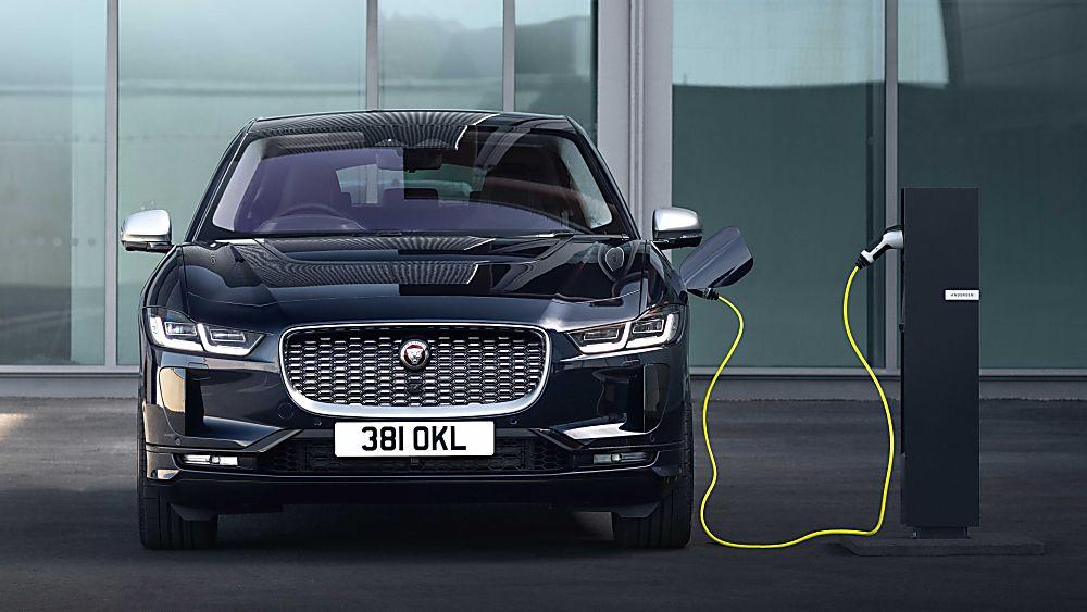 Jaguar I-Pace Front Charging