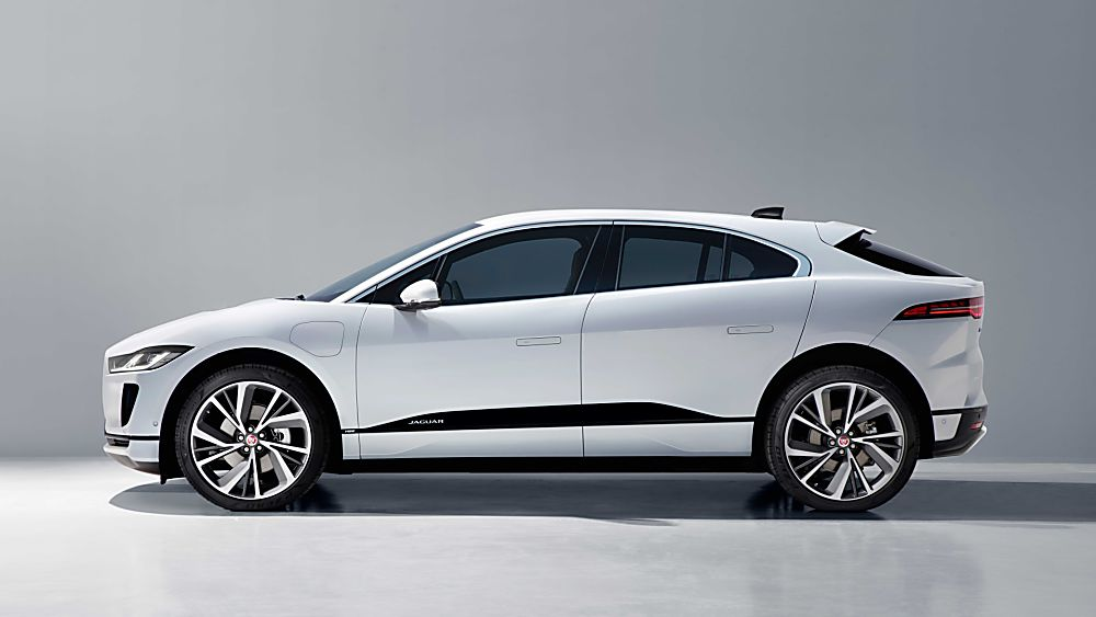 Jaguar I-Pace Side