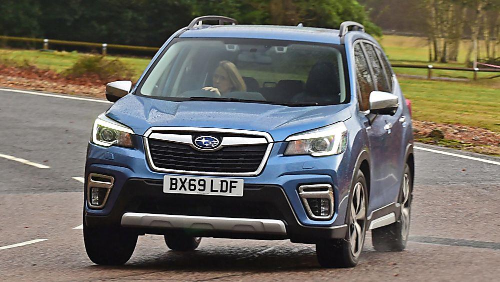 Subaru Forester e-Boxer MHEV On road
