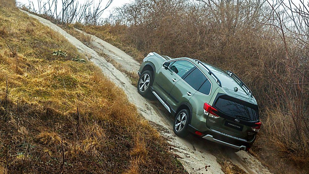 Subaru Forester e-Boxer MHEV Off-road