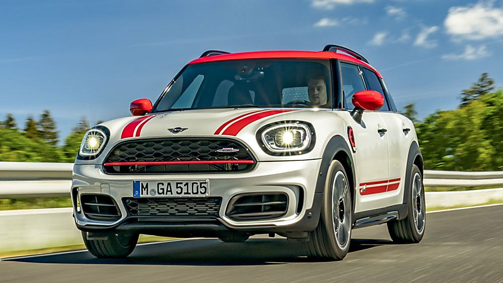 John Cooper Works Countryman facelift
