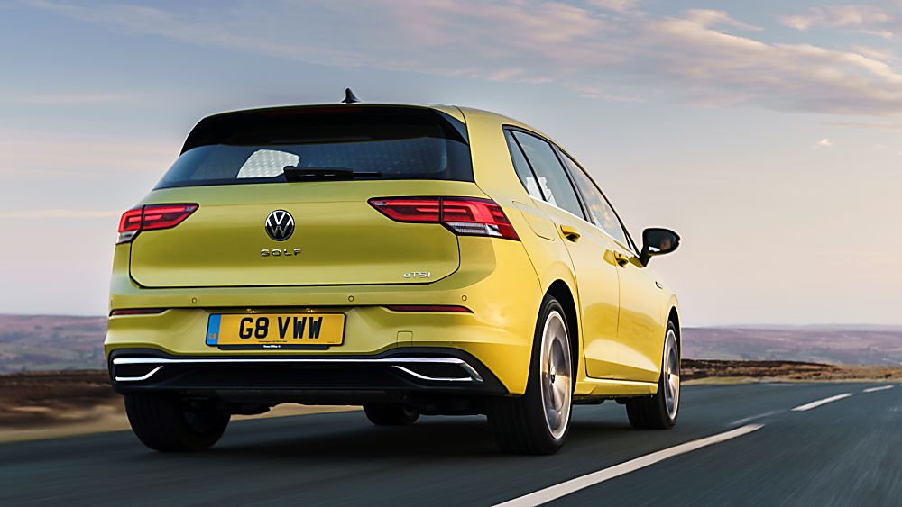 2020 Volkswagen Golf Mk8 driving and exhausts