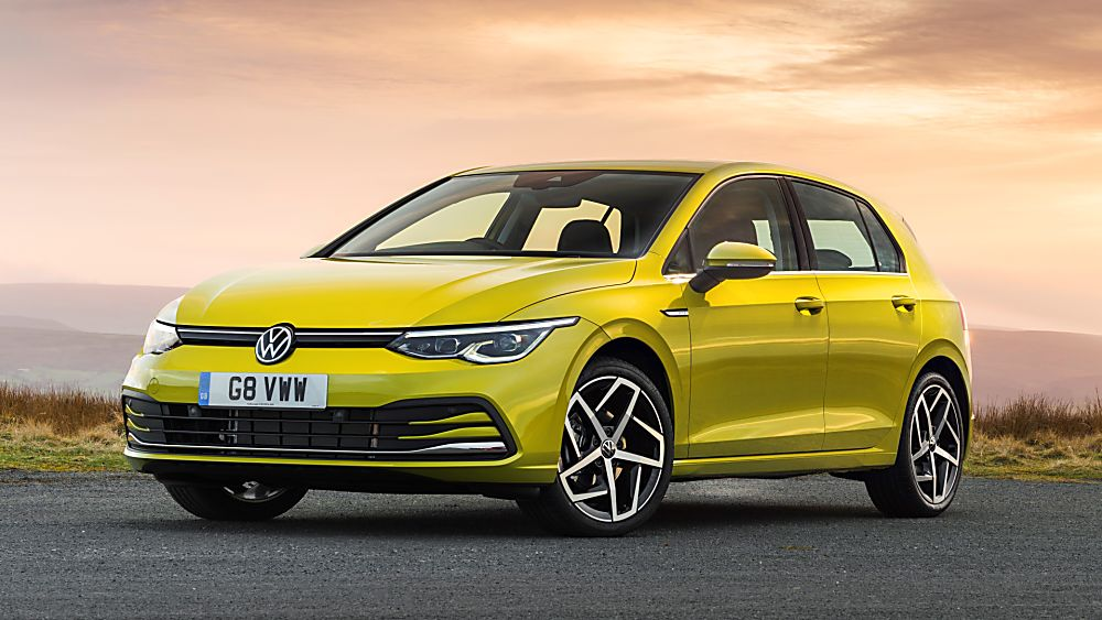 2020 Volkswagen Golf Mk8  alloys and LED lights