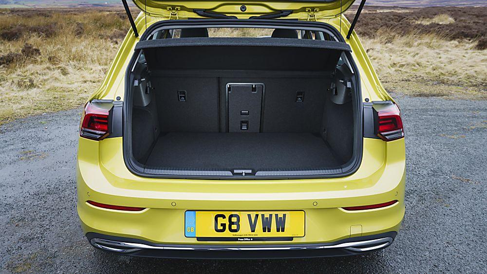2020 Volkswagen Golf Mk8 boot space