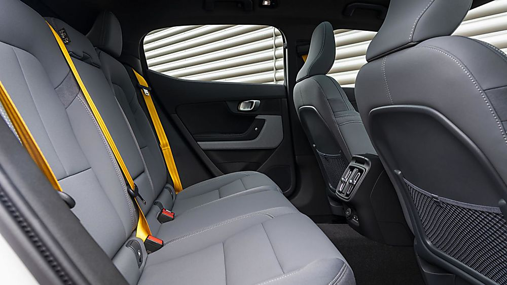 Polestar 2 rear seats are bit of a squeeze