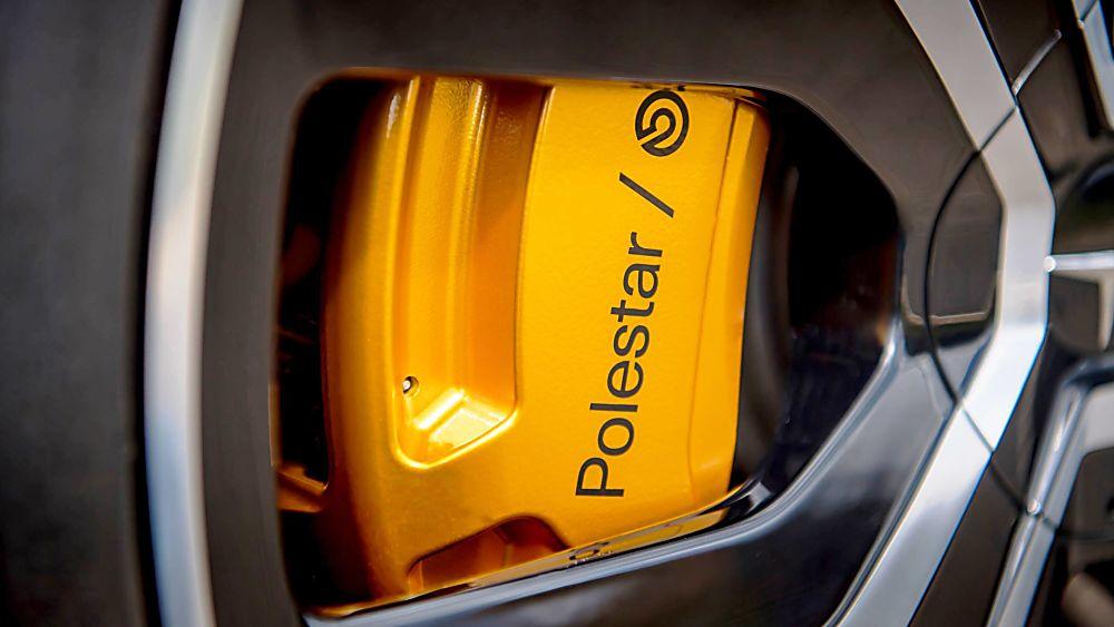 Polestar 2 Brembo front brakes