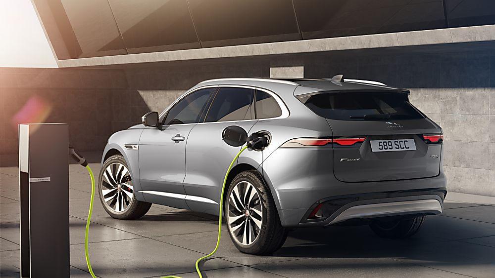 JAGUAR: 2020 F-Pace Charging