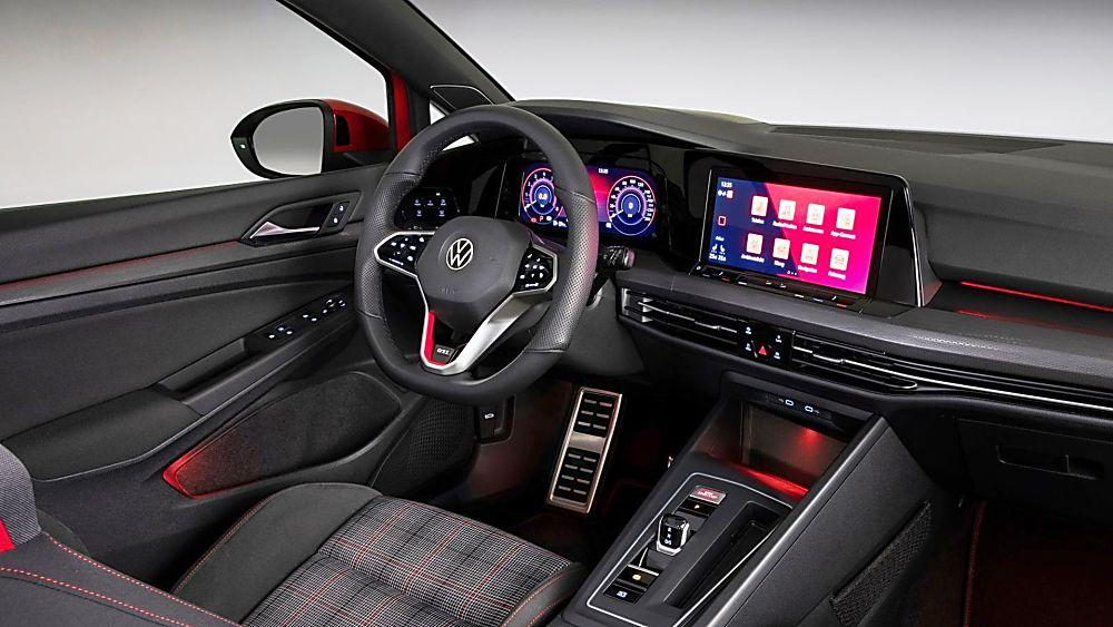 Golf GTI Interior