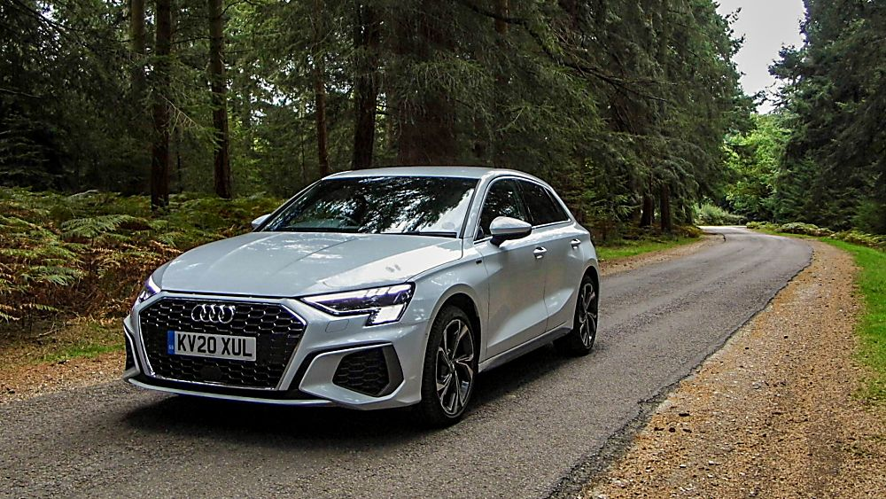 Review Audi A3 Front Nearside