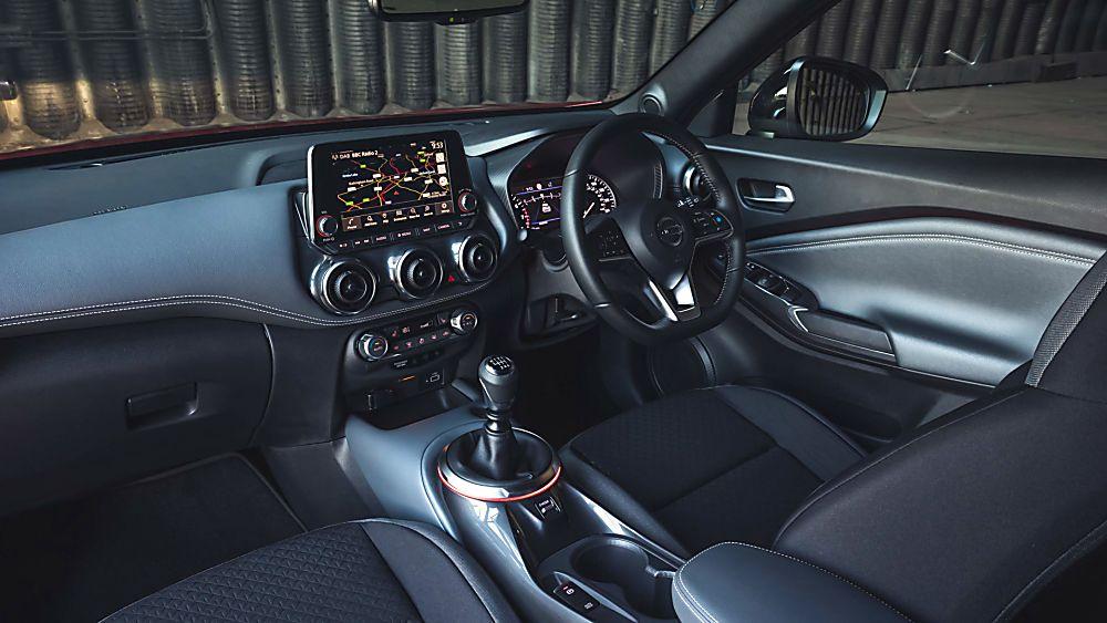 Nissan Juke II Interior Front