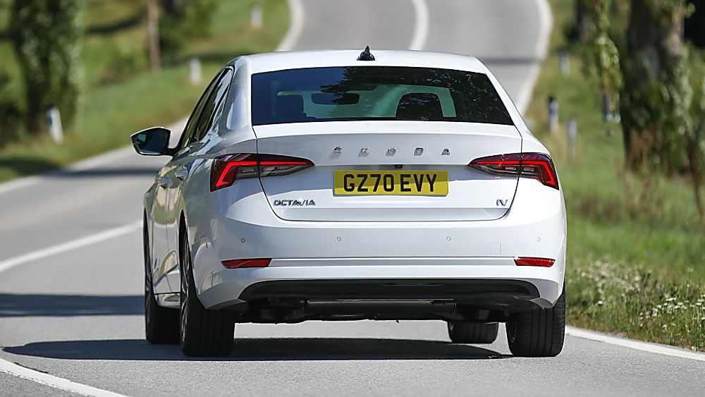 SKODA: New Octavia iV PHEV Rear