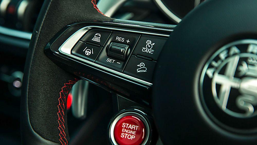 Alfa Romeo Stelvio Quadrifoglio Verde Steering Wheel