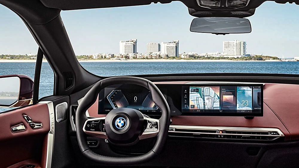 New BMW iX EV 2020 Interior