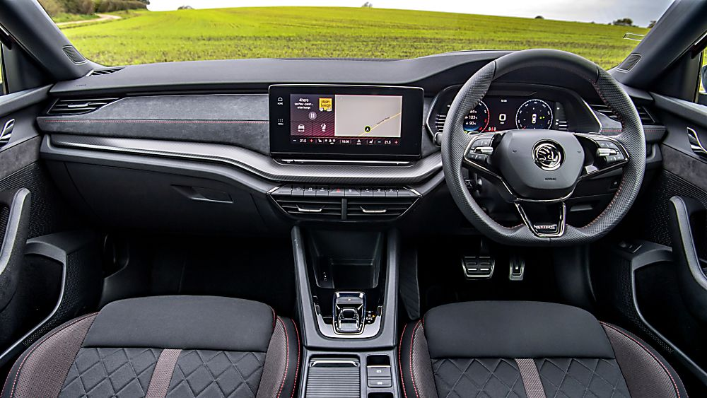 SKODA: The all-new Octavia vRS Dashboard