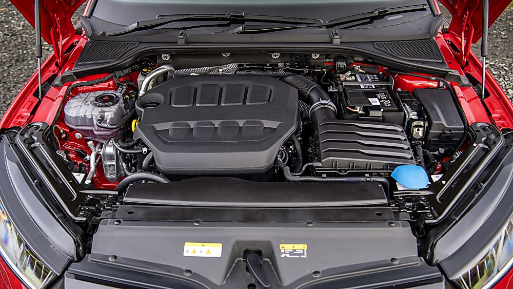 SKODA: The all-new Octavia vRS Engine