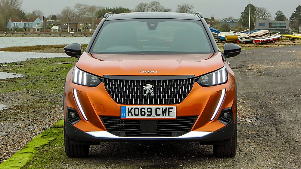 Review: 2020 Peugeot 2008 Front