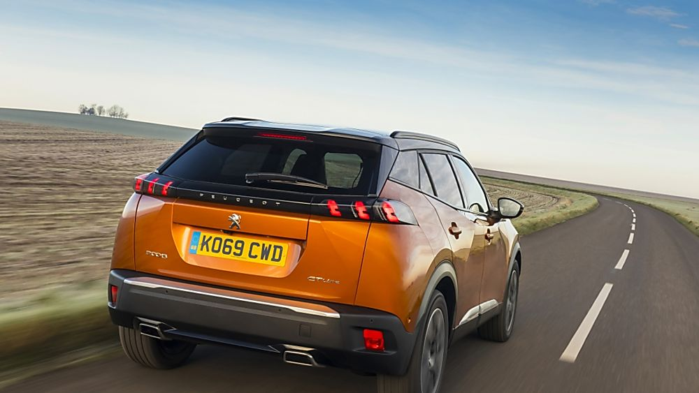 Review: 2020 Peugeot 2008 Rear