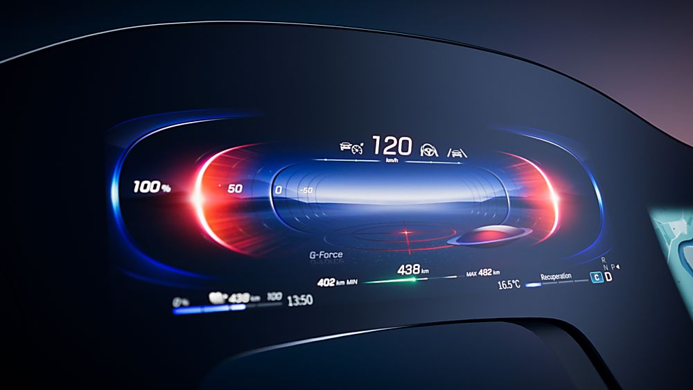 MERCEDES-BENZ: New EQS to get full-width MBUX Hyperscreen Dashboard