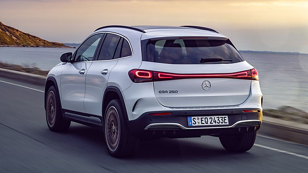 MERCEDES-BENZ: All-electric EQA finally revealed Hero Rear