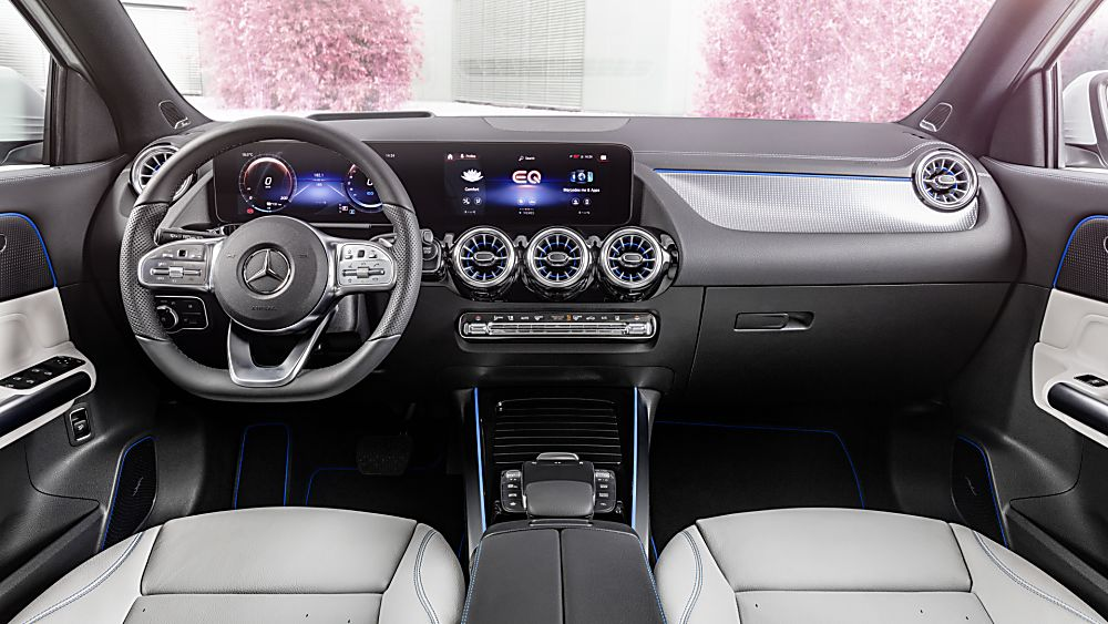 MERCEDES-BENZ: All-electric EQA finally revealed Hero Interior